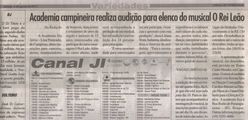 Jornal de Itatiba