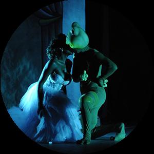 ballet espetáculo a princesa e o sapo