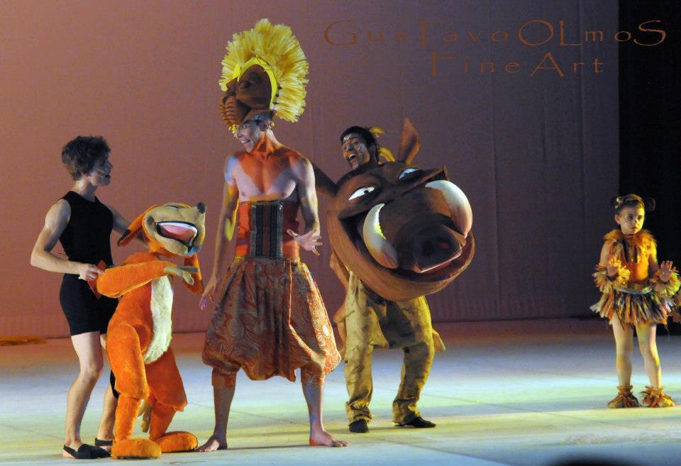 ballet espetaculo rei leao 06