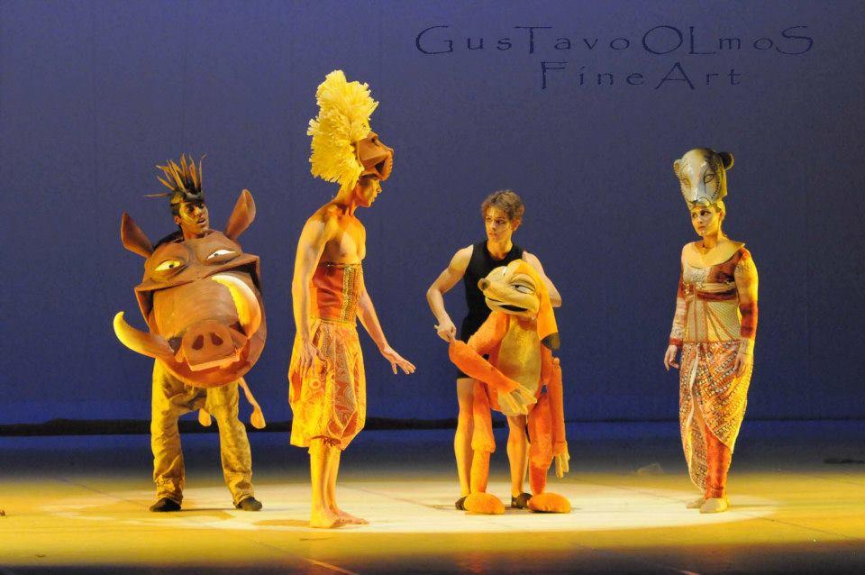 ballet espetaculo rei leao 13