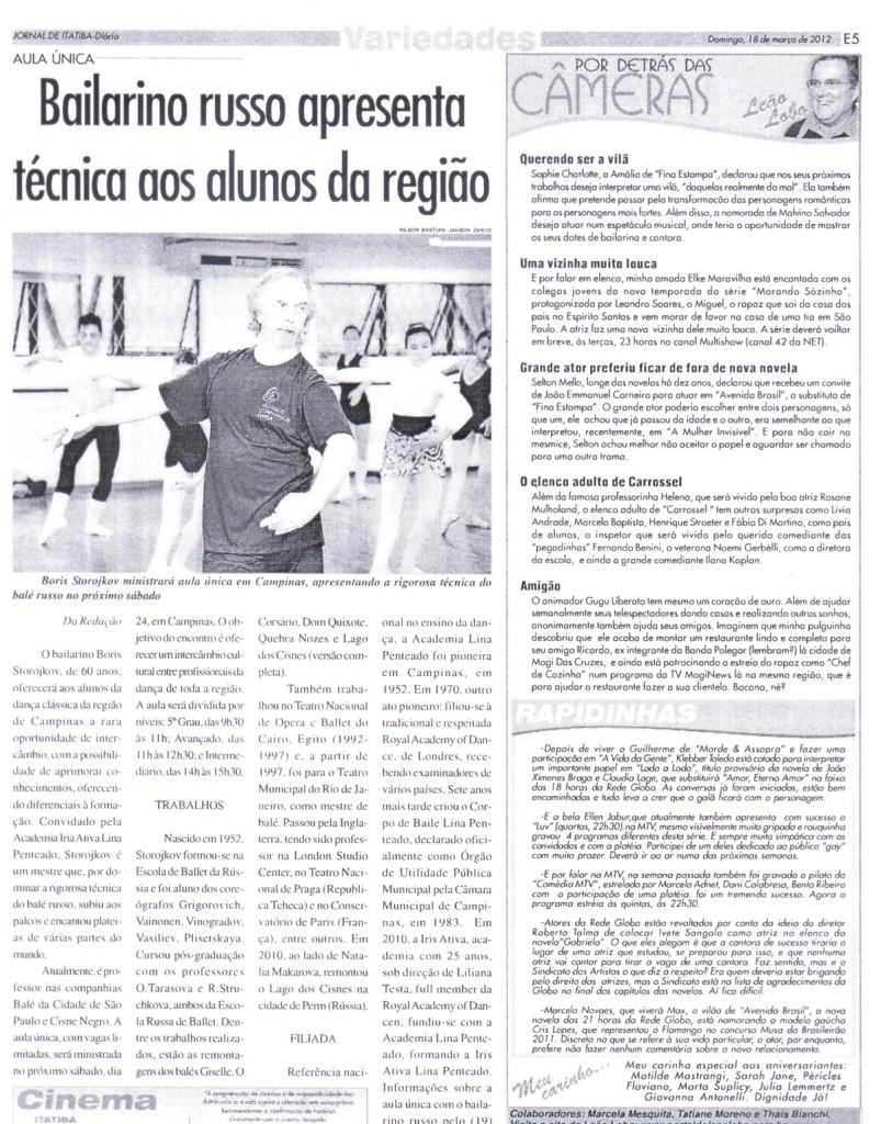 Jornal de Itatiba Russo Boris Stotojkov